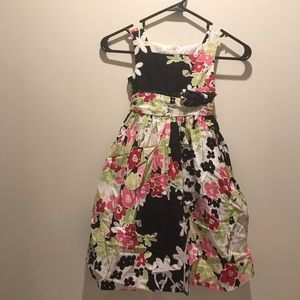 Girls Size 5 Jayne Copeland Floral Layered Dress
